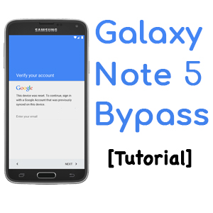 Easy Tutorial | How to bypass FRP Galaxy Note 5 [ 99
